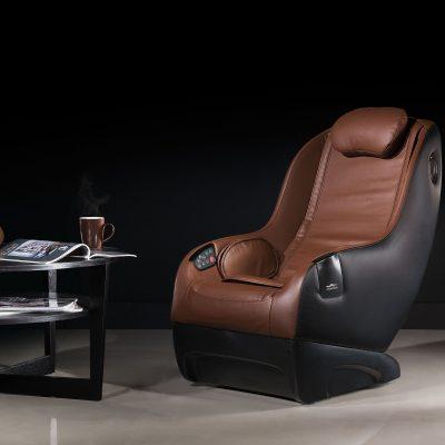 Fotel do masażu we wnętrzu