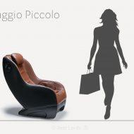 Fotel masujacy Massaggio Piccolo w liczbach
