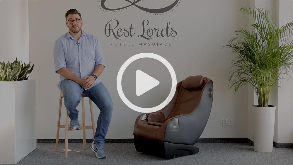 Wideo instruktaż obsługi fotela masującego Massaggio Piccolo