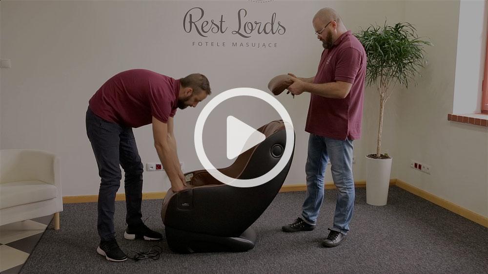 Unboxing fotela masującego Massaggio Piccolo