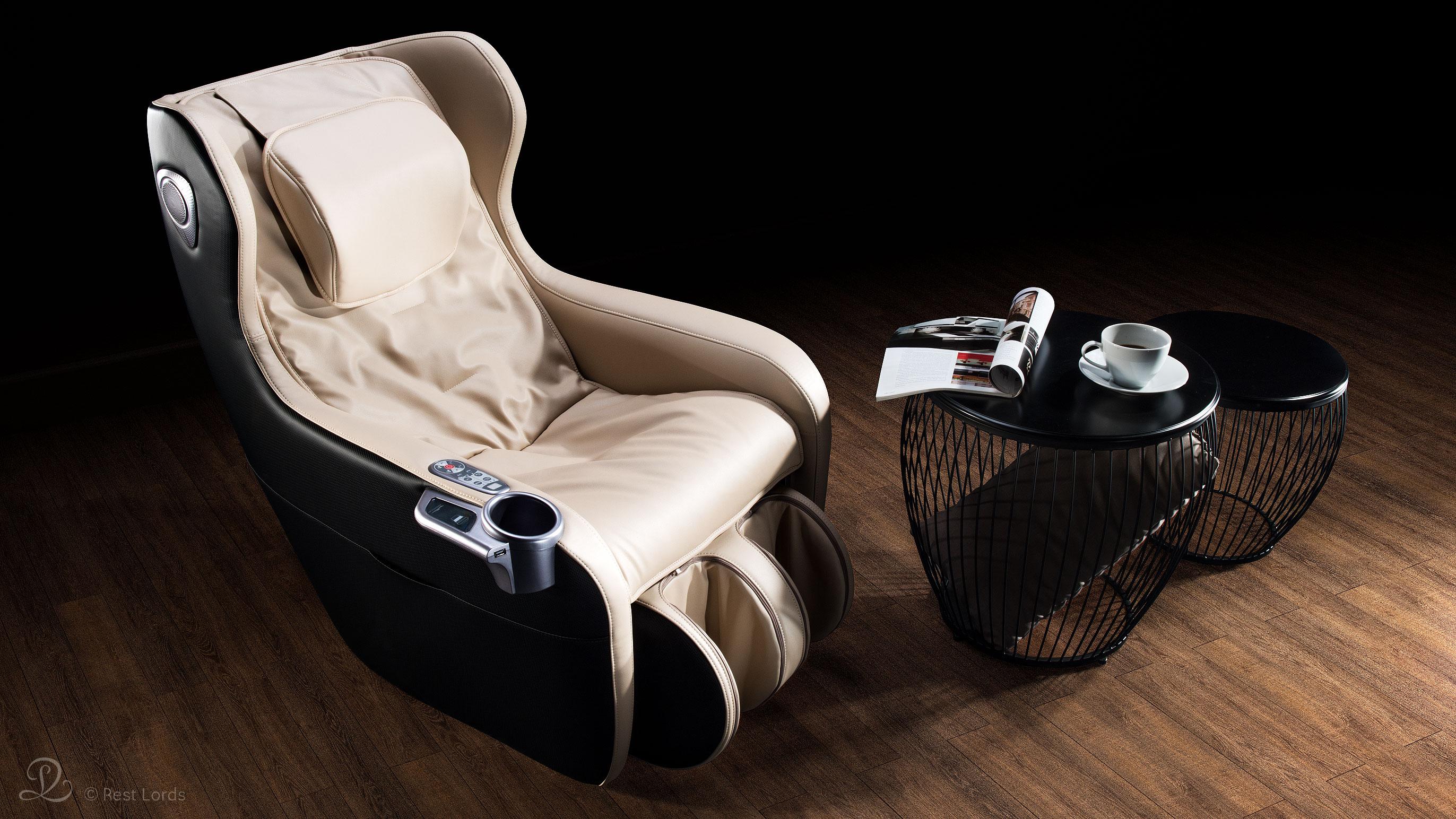 Fotel z masażem Massaggio Ricco aranżacja