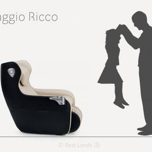 Fotel Massaggio Ricco w liczbach