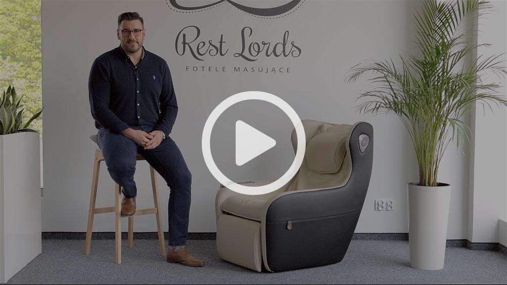 Wideo instruktaż obsługi fotela masującego Massaggio Ricco