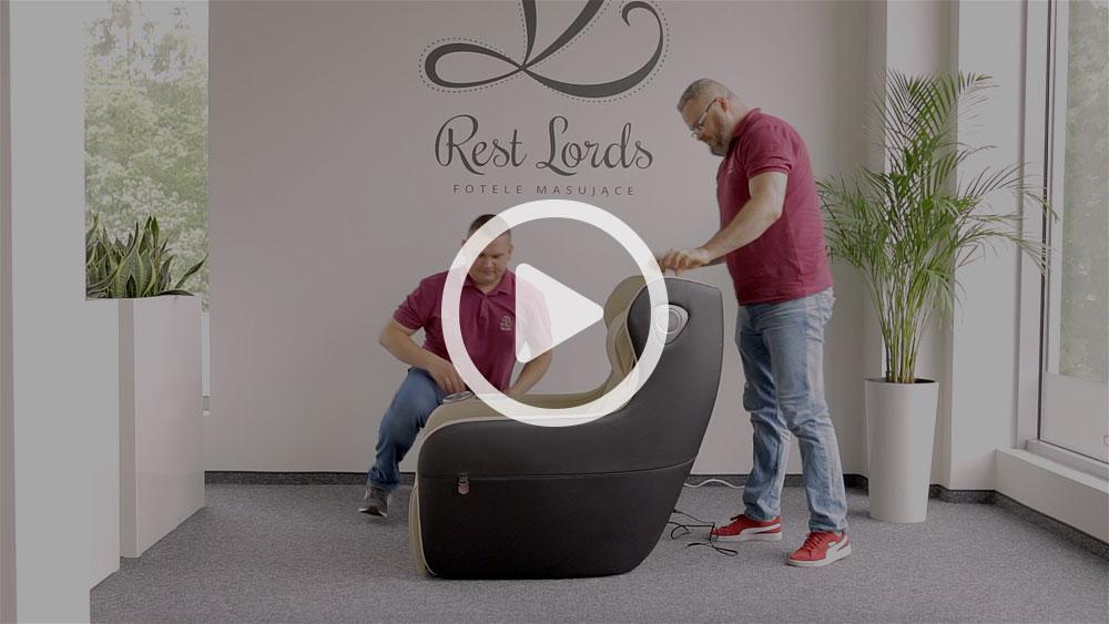 Unboxing fotela masującego Massaggio Ricco