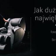 Największy fotel masujący - wymiary