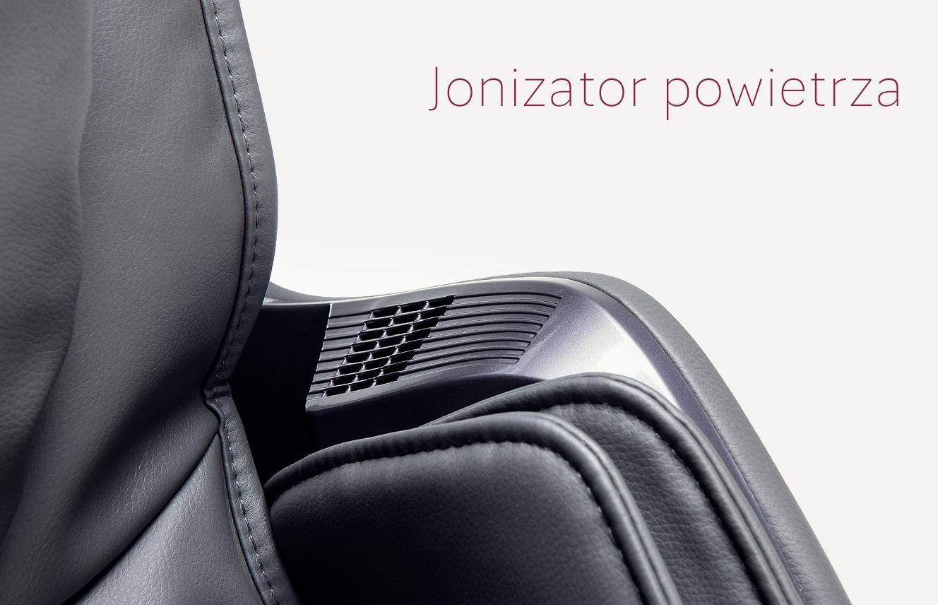Jonizator powietrza w fotelu do masażu Massaggio Stravagante