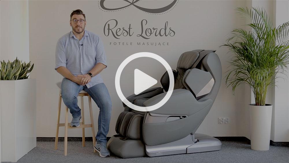 Wideo instruktaż obsługi fotela masującego Massaggio Stravagante