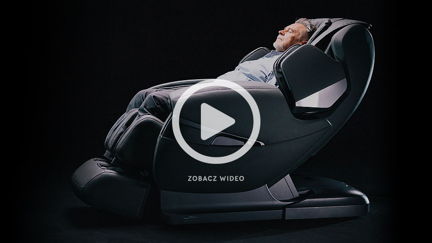 Fotel masujący Massaggio Stravagante wideo
