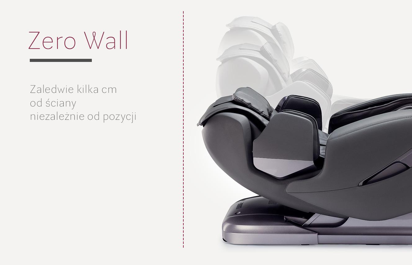 Zero Wall w fotelu masującym Massaggio Stravagante
