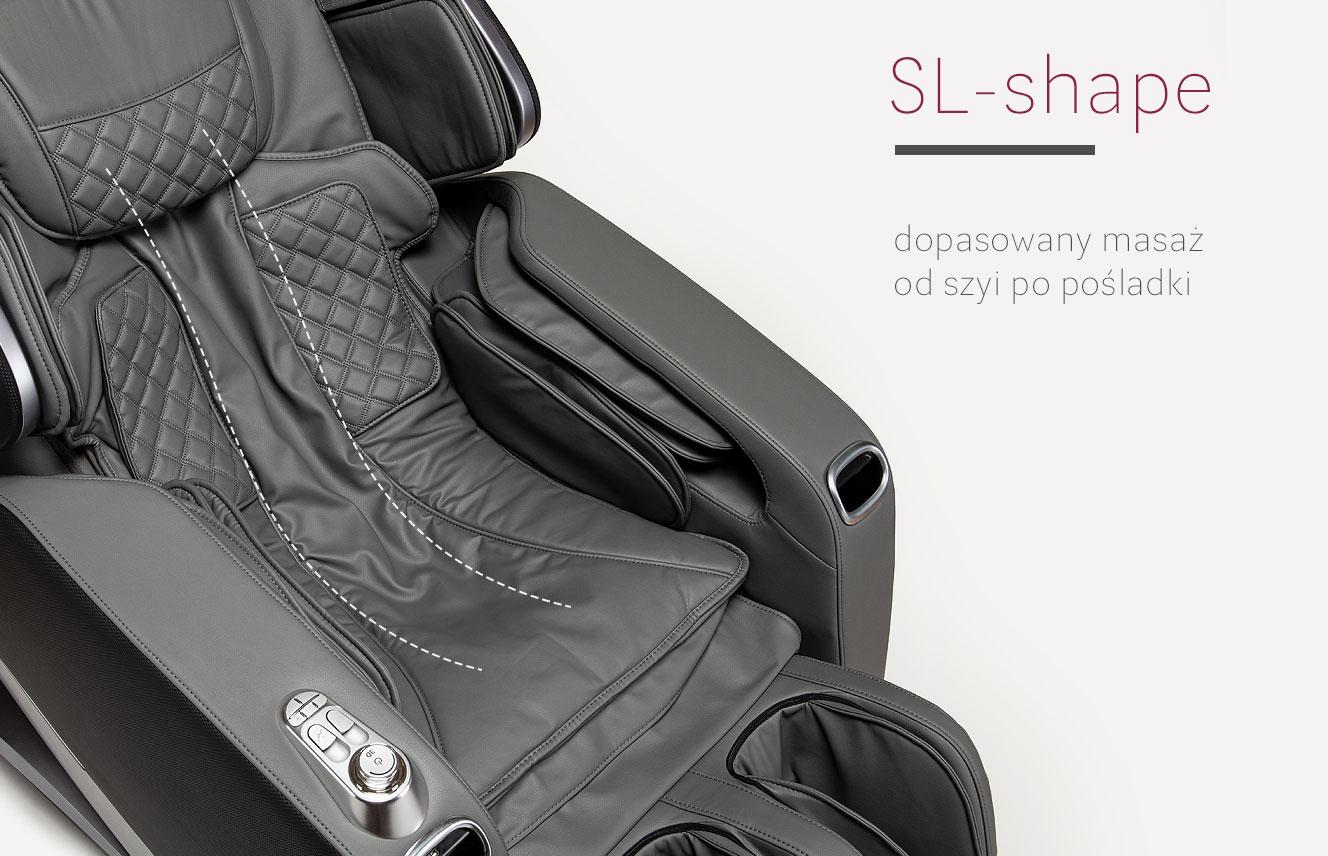SL Shape w fotelu masującym Stravagante 2