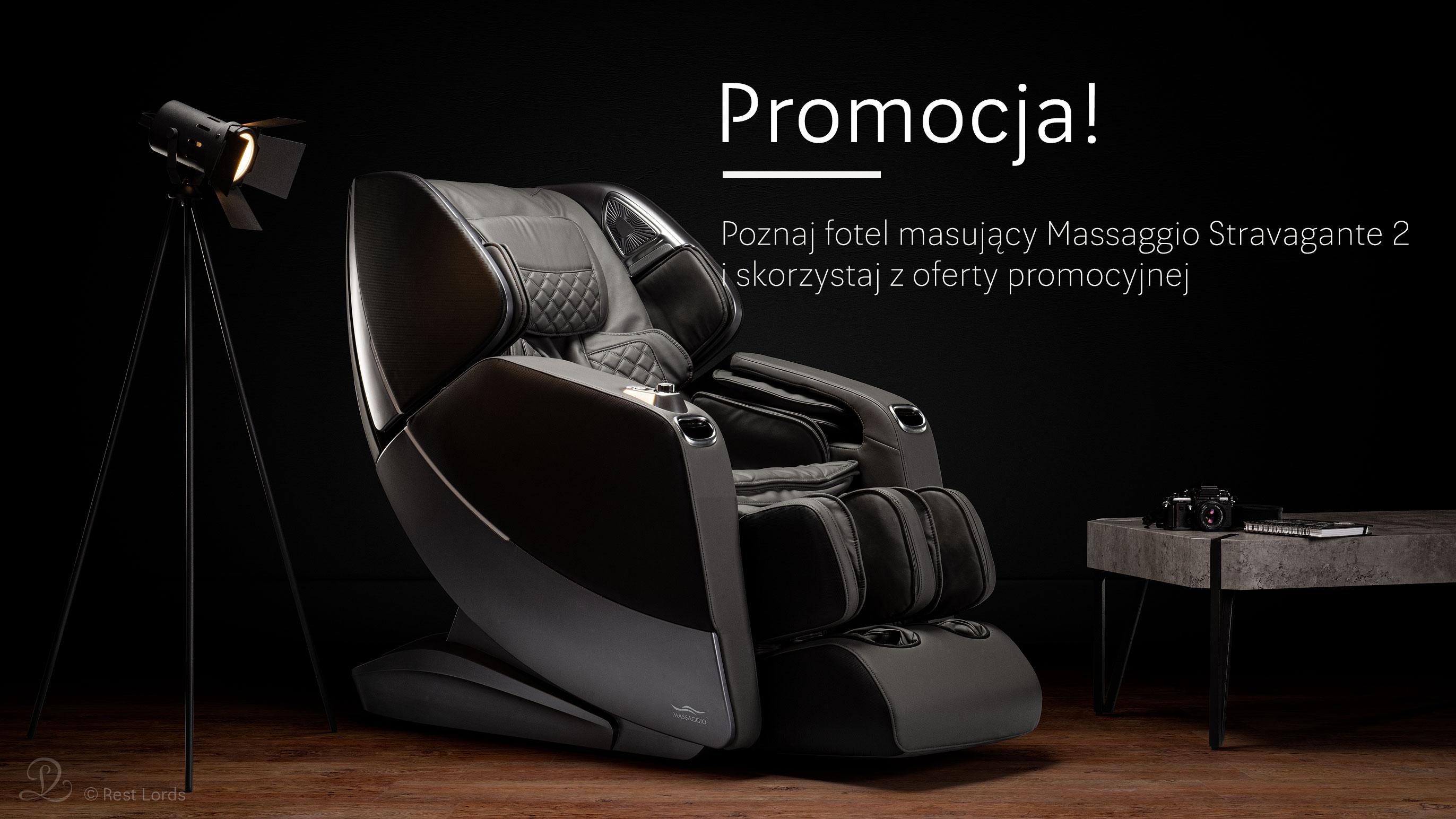 Fotel masujący Massaggio Stravagante 2 promocja wyprzedaż