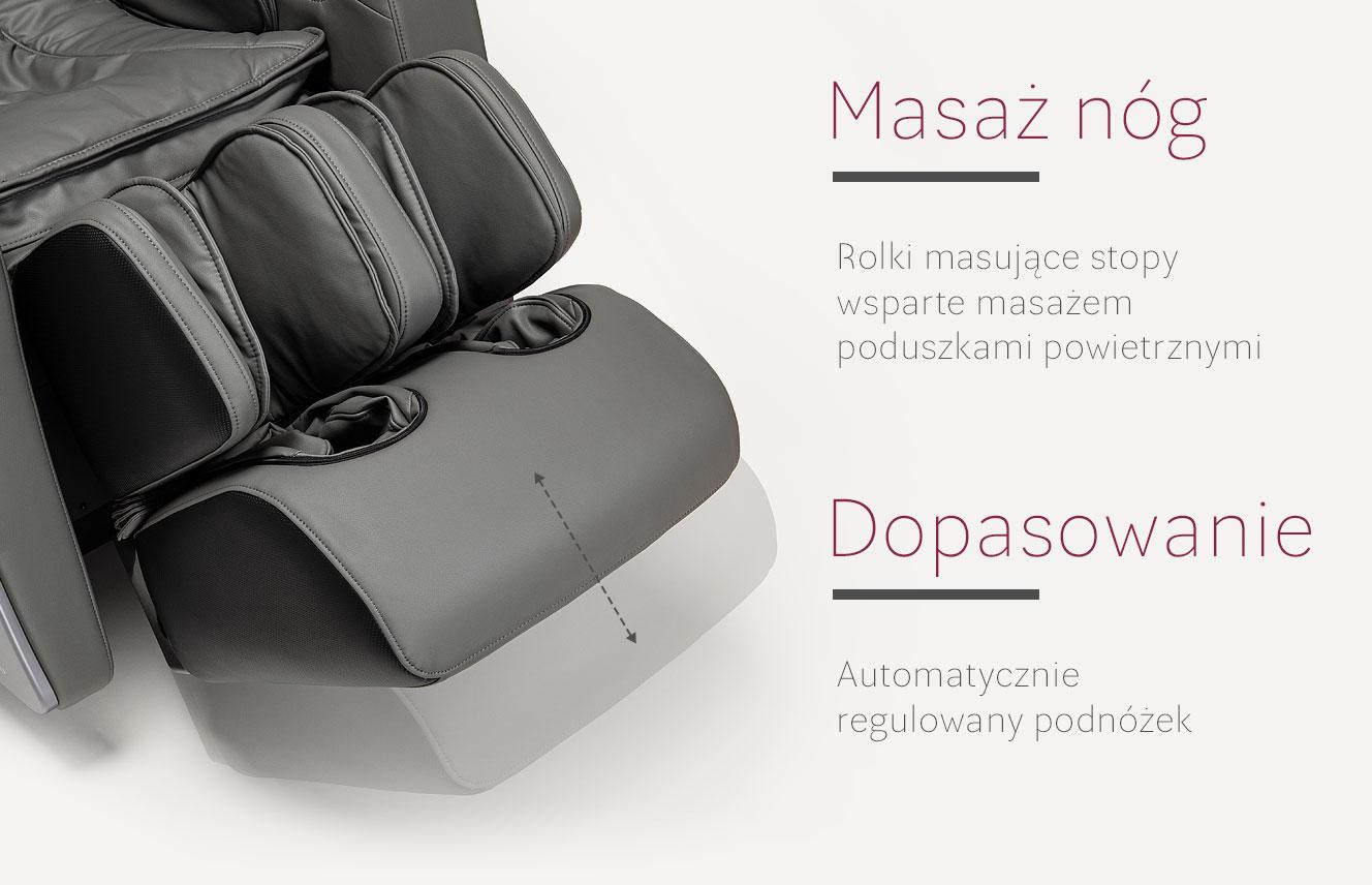 Masażer nóg w fotelu do masażu Massaggio Stravagante 2