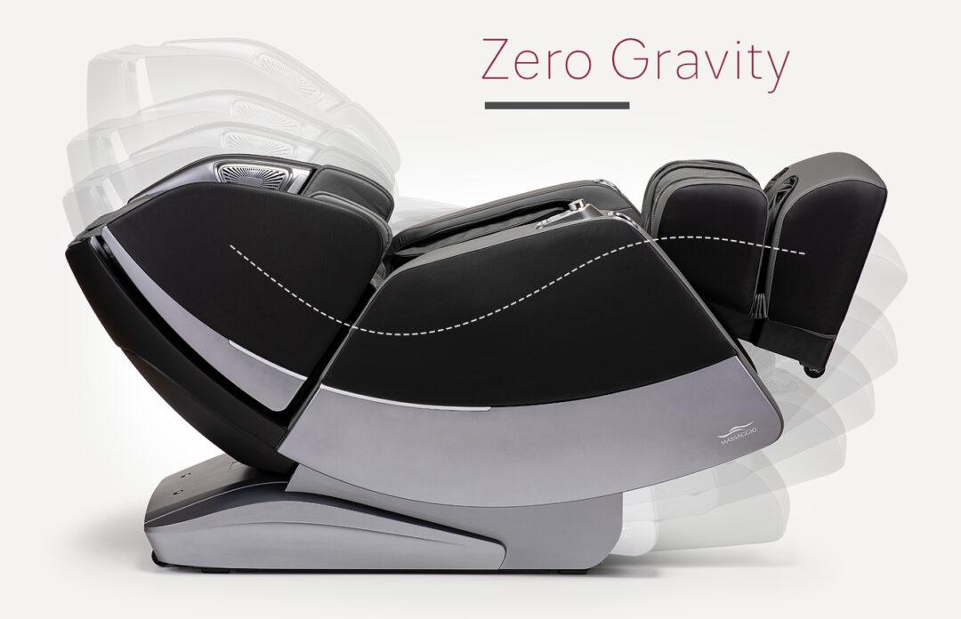 Zero Gravity w fotelu do masażu Massaggio Stravagante 2