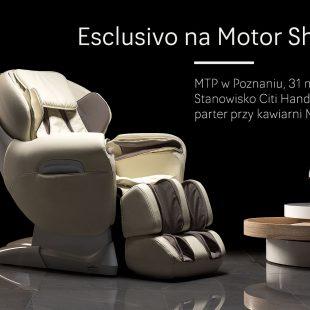 Fotel masujący na Motor Show 2016