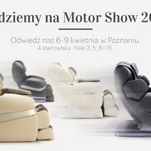 Fotele masujące Rest Lords na Motor Show 2017