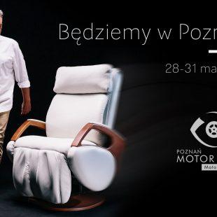 Fotele masujące Rest Lords na Motor Show Poznan 2019