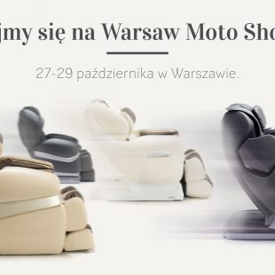 Fotele masujące Rest Lords na Warsaw Moto Show 2017