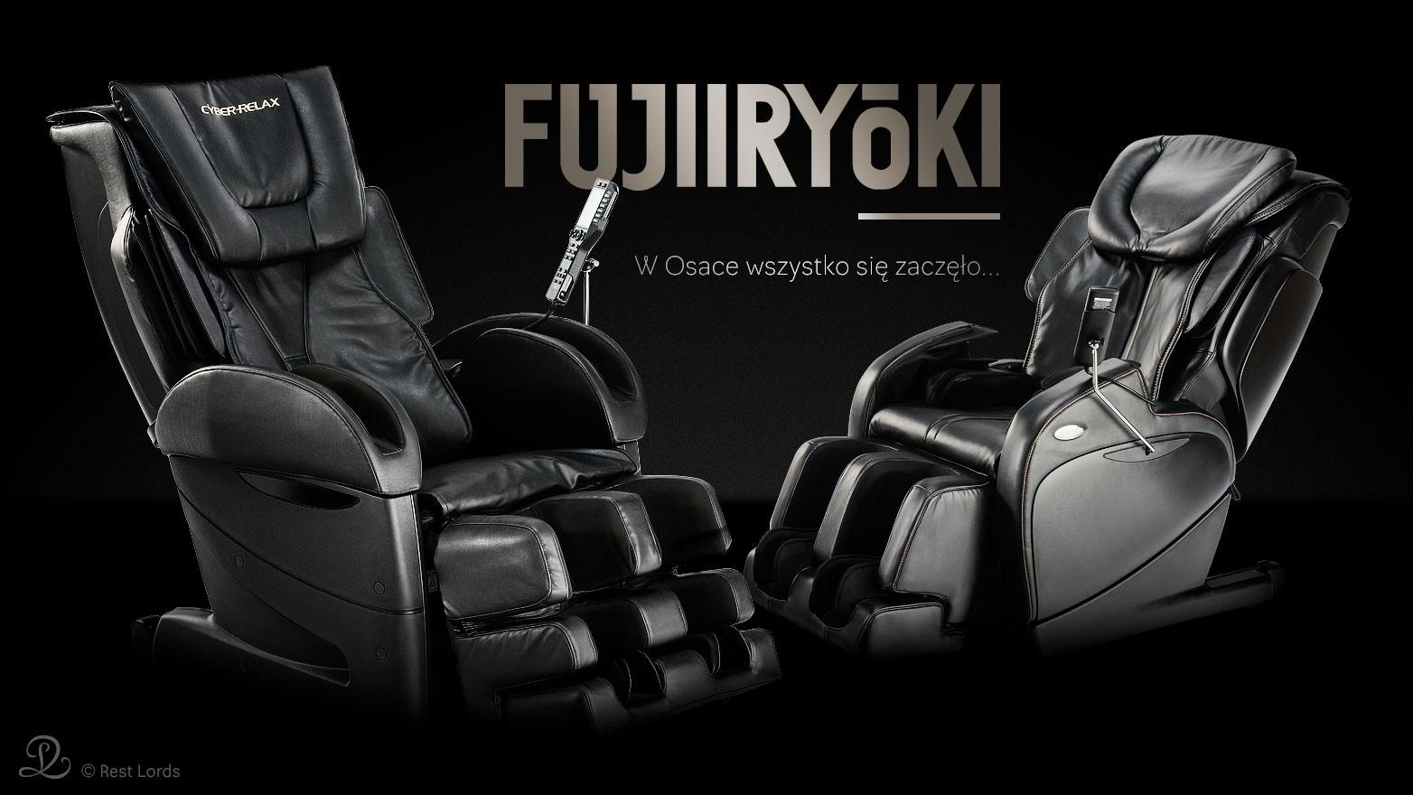 Fotele masujące Fujiiryoki