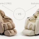 Porównanie foteli masujących Eccellente 2 vs Esclusivo