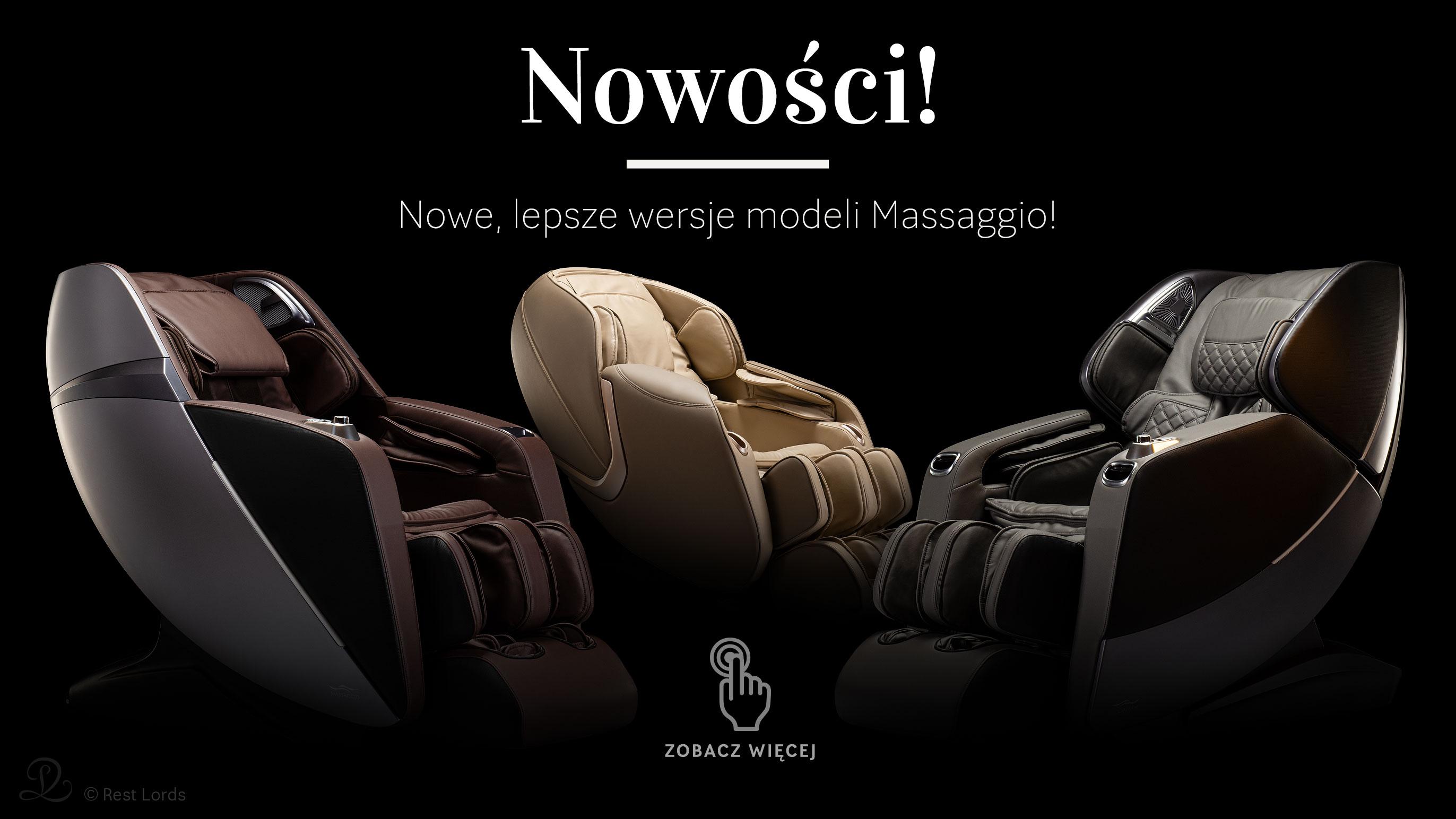 Nowe fotele Massaggio 2020