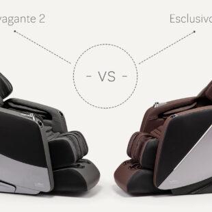 Porównanie Massaggio Stravagante 2 vs Esclusivo 2