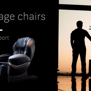 Massage chair at the airport