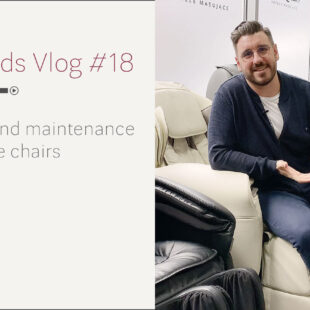 Cleaning and maintenance of massage chairs