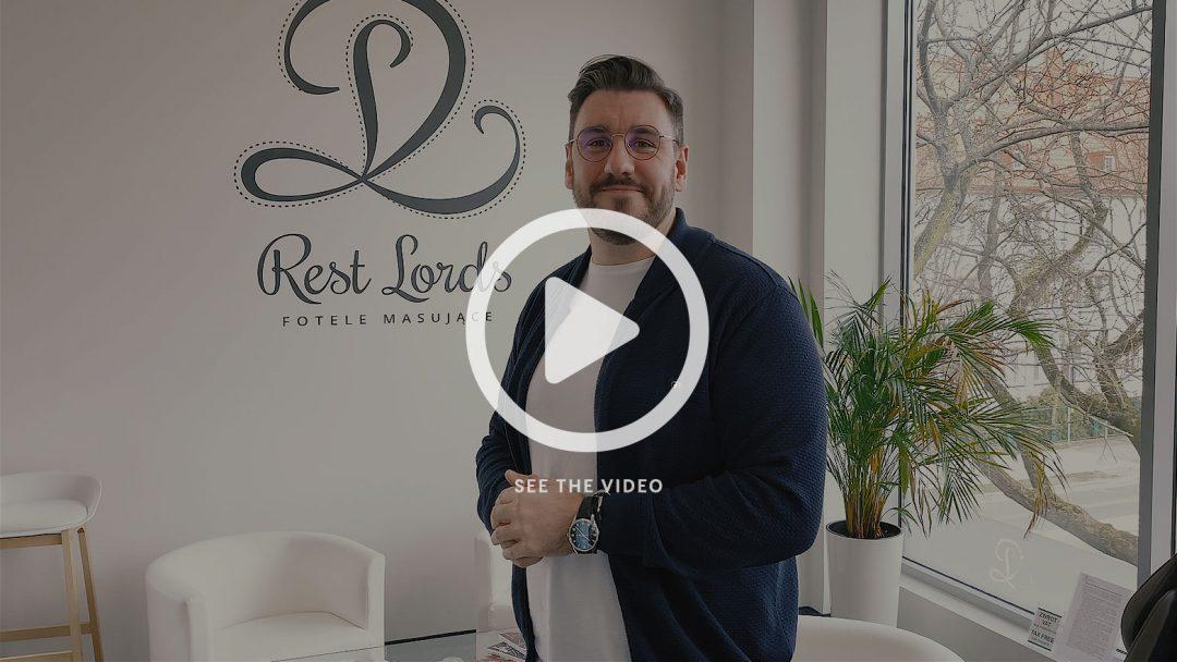 New polish vlog about massage chairs