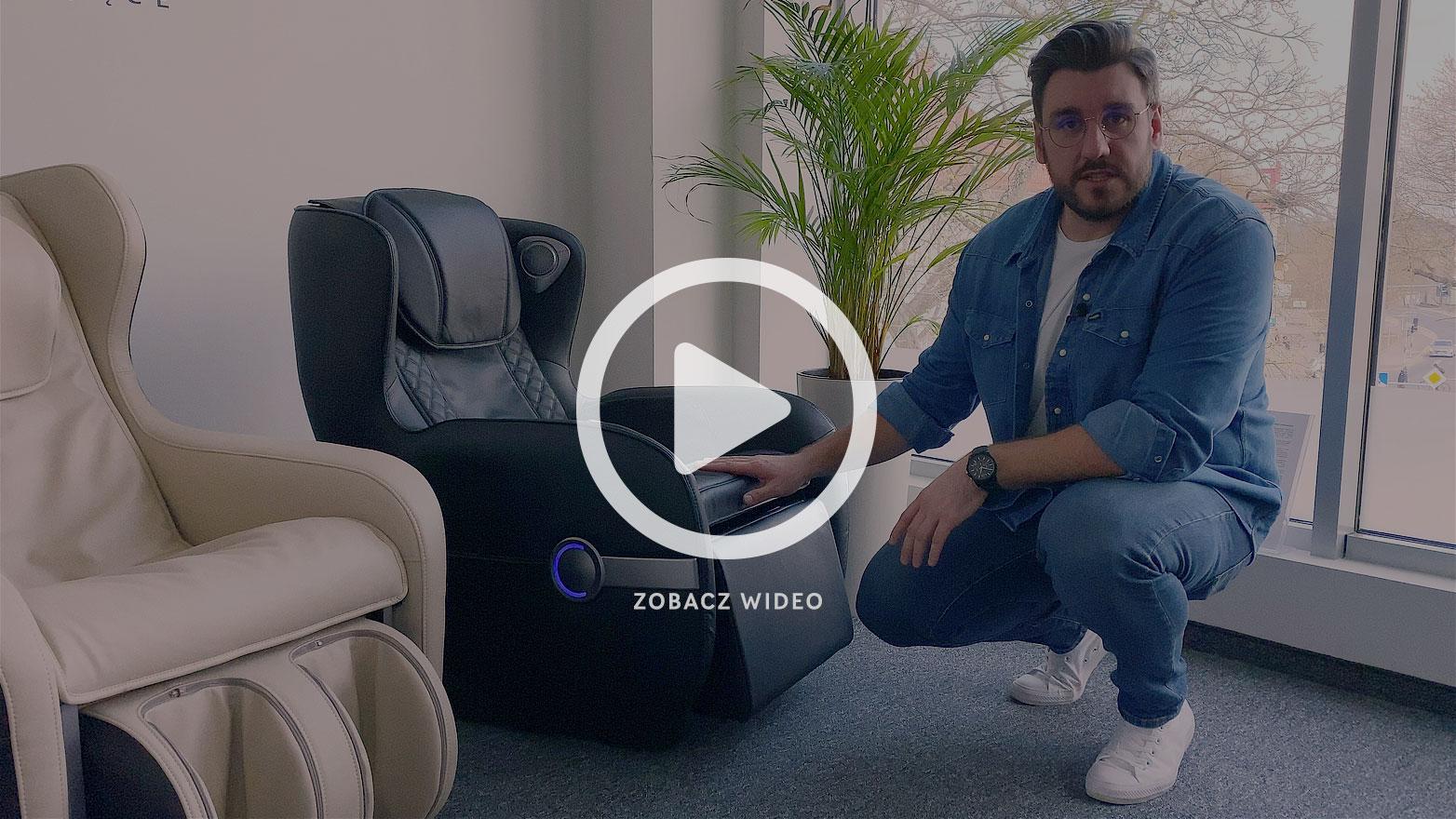 Kompaktowe fotele masujące - vlog