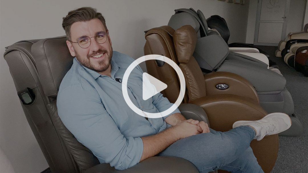 Contraindications for using the massage chair - vlog