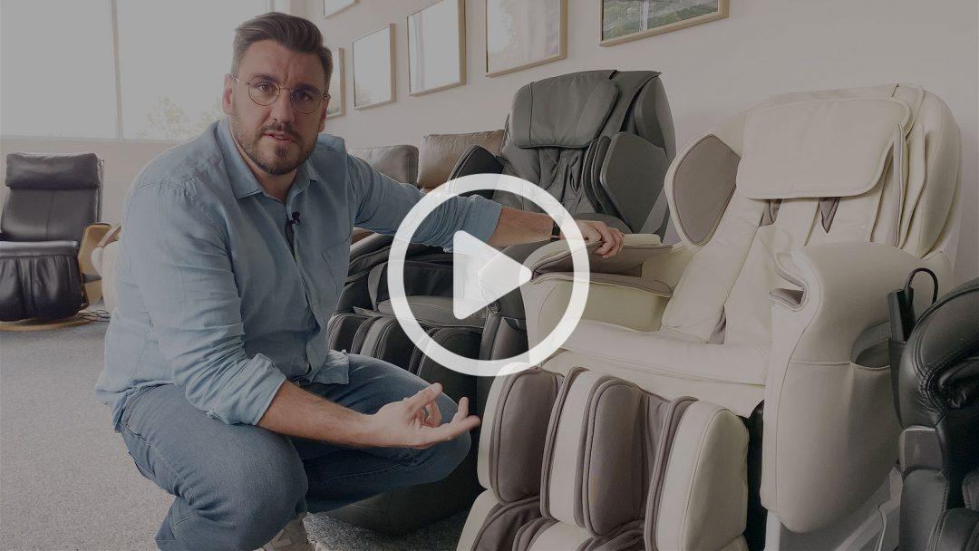 Masaż nóg w fotelach masującym