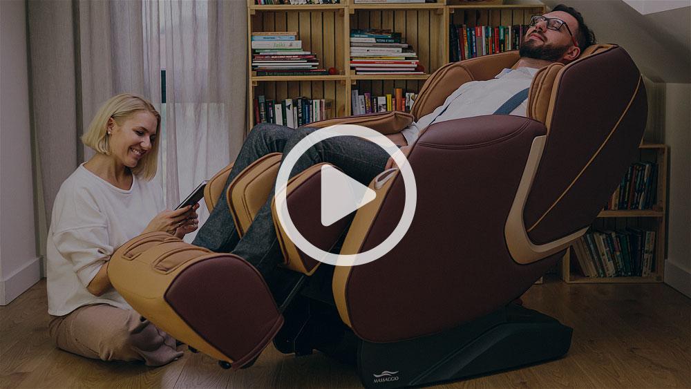 Fotel masujący jako prezent