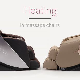 Heating in massage chairs
