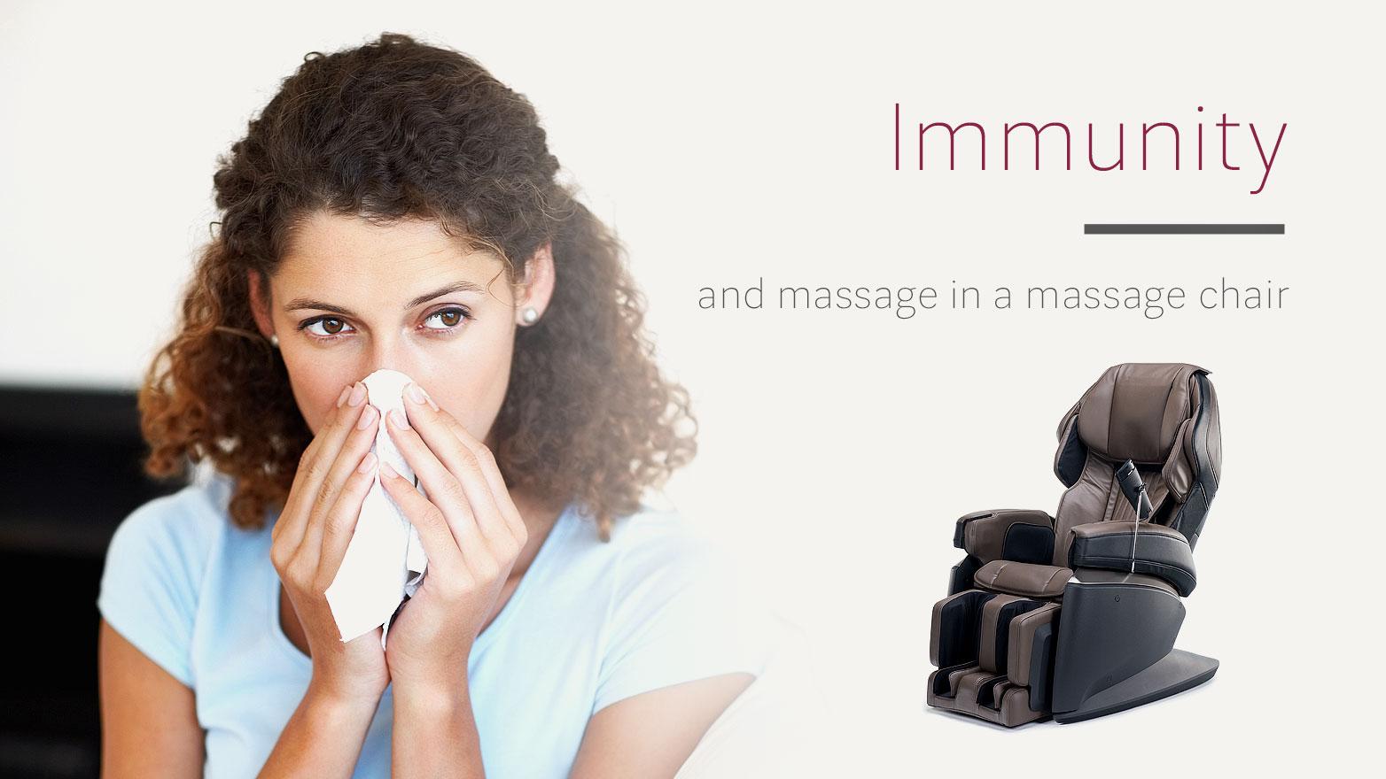 massage chairs and immunity