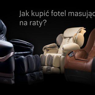 Fotel masujący na raty