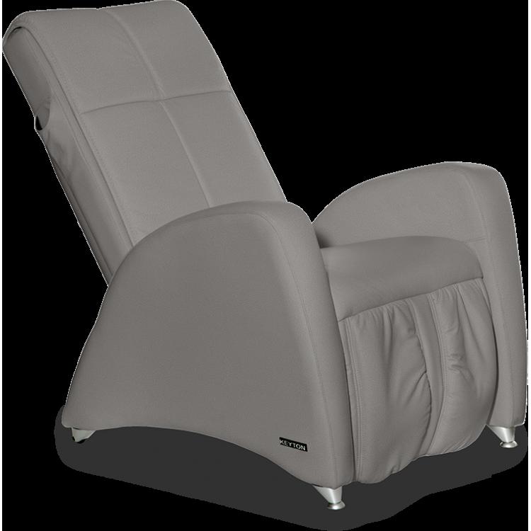 Tapicerowany fotel masujący