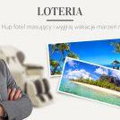 Loteria Rest Lords fotele masujące