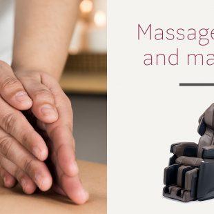Massage chair and massage therapist