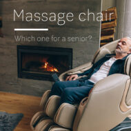 Massage chair for the elderly