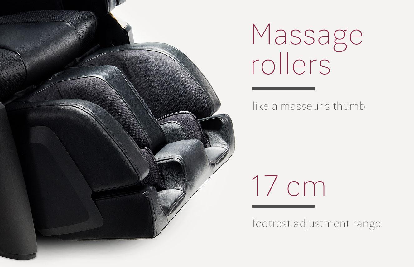 Massage rollers in JP2000