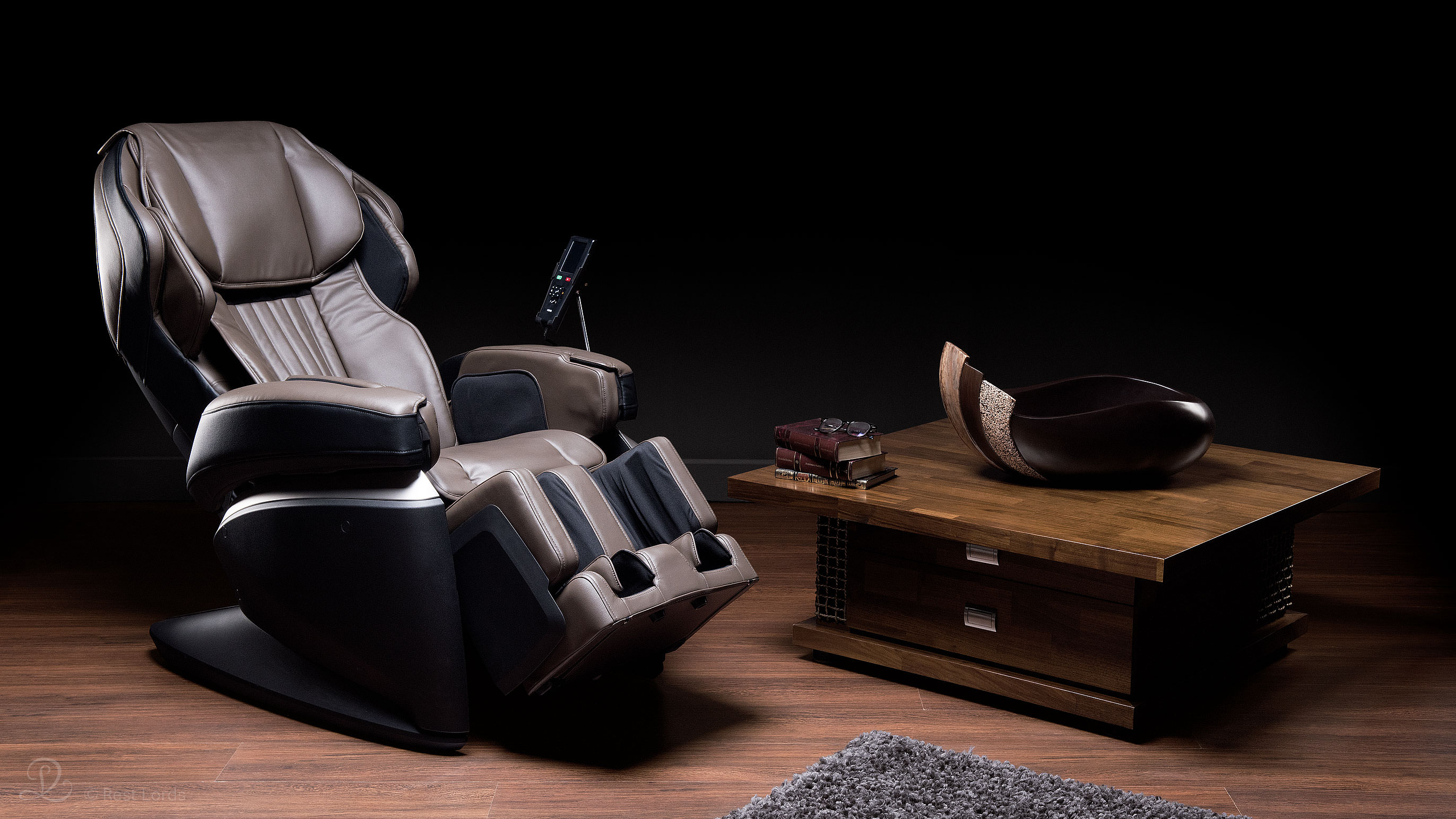 Massage chair Fujiiryoki JP1000 arrangement