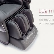 Leg massage in massage chair