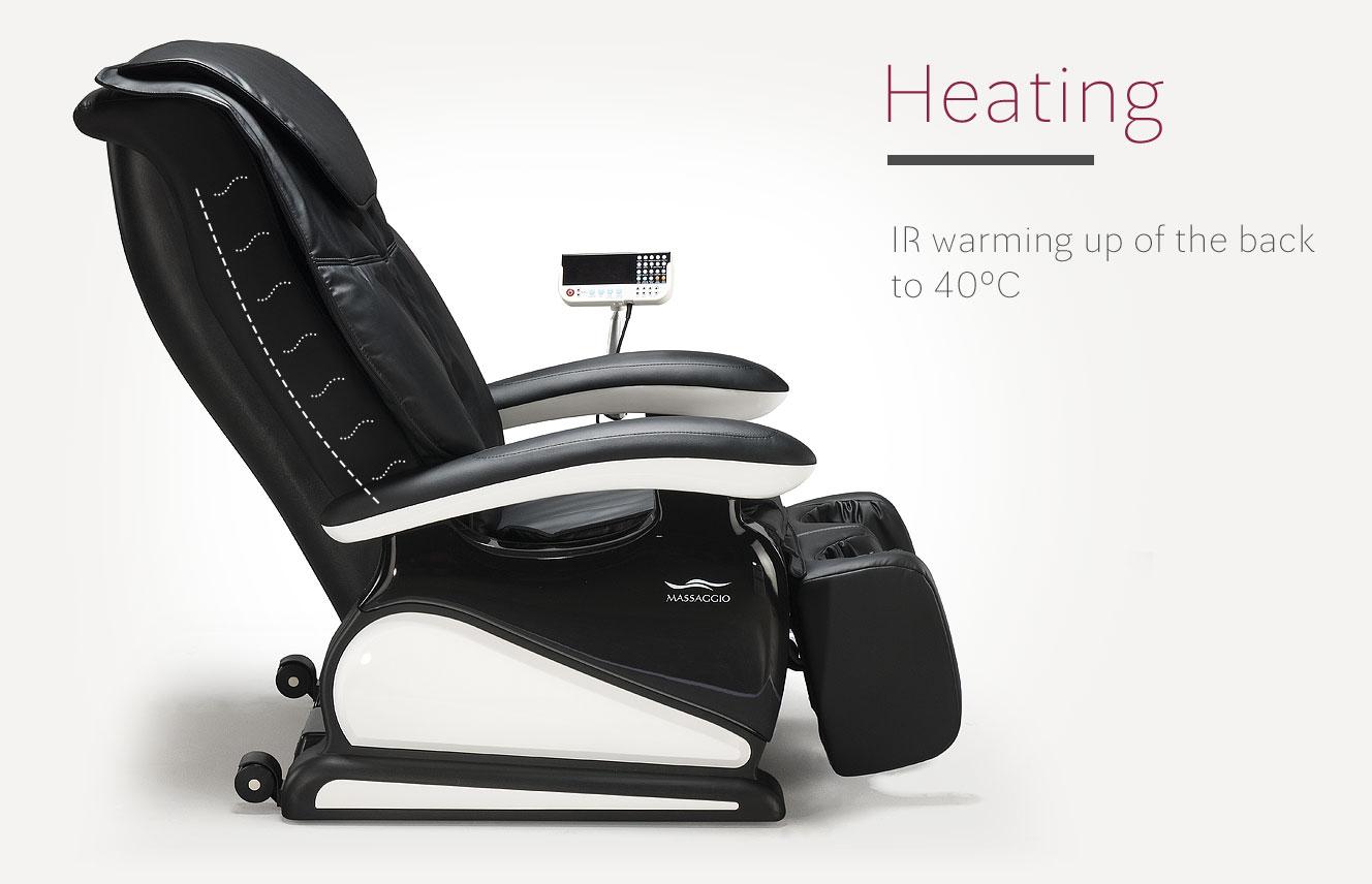 Massage chair Massaggio Bello heating