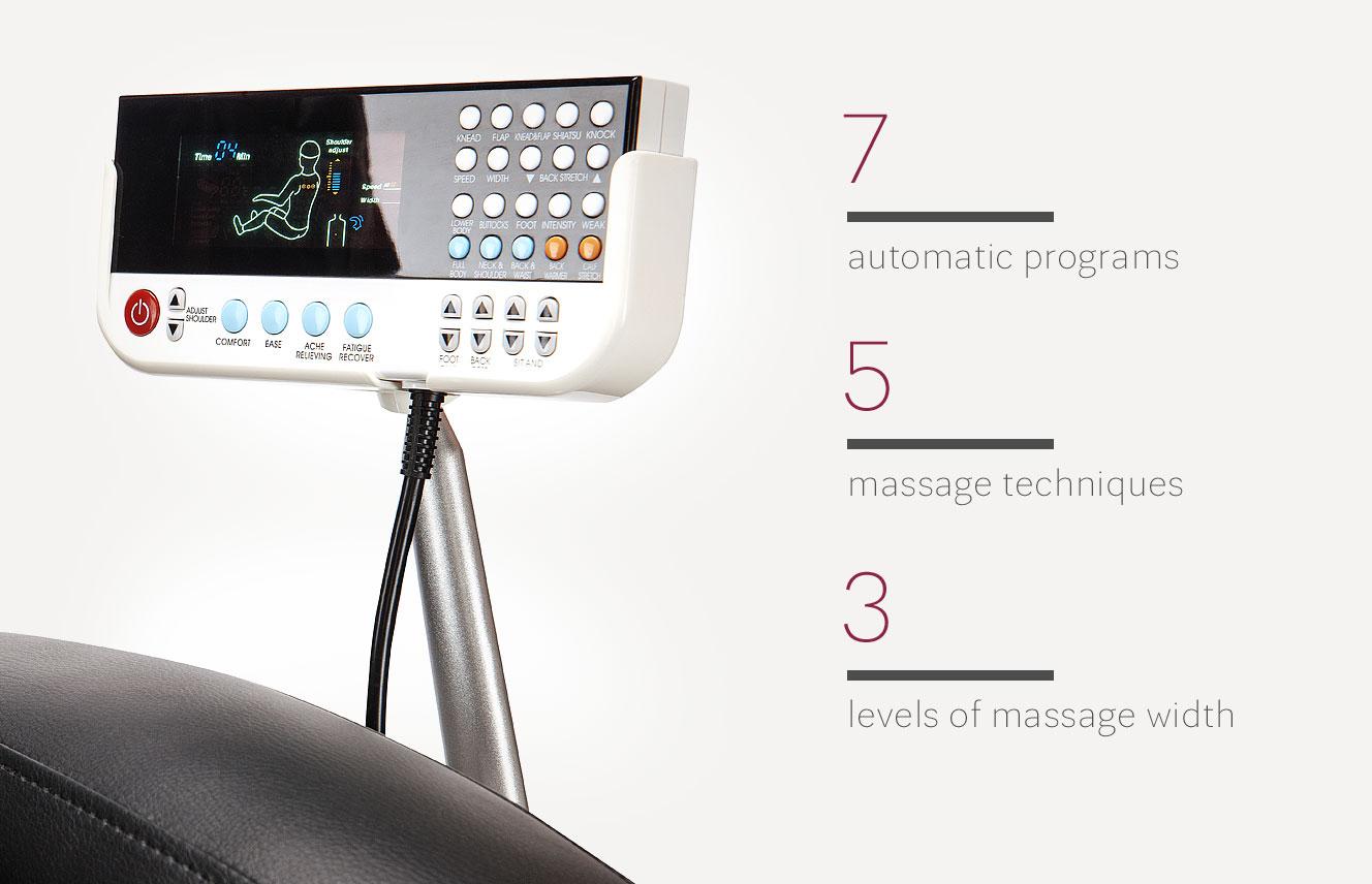 Massage chair Massaggio Bello Remote