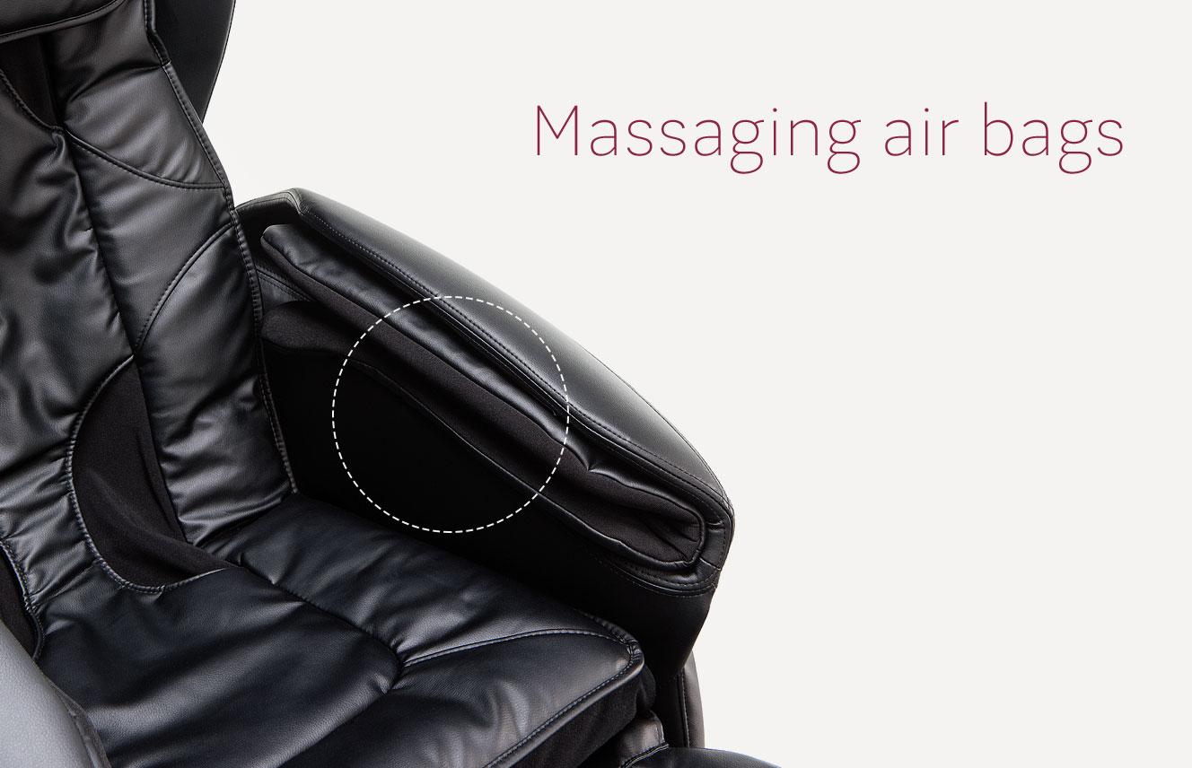 Massagging air bags