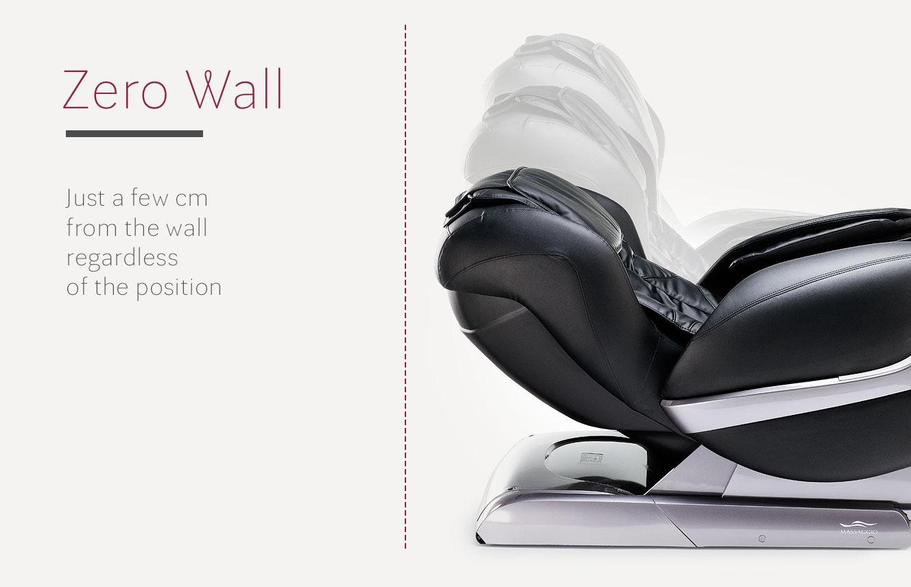 Zero Wall in massage chair Eccellente