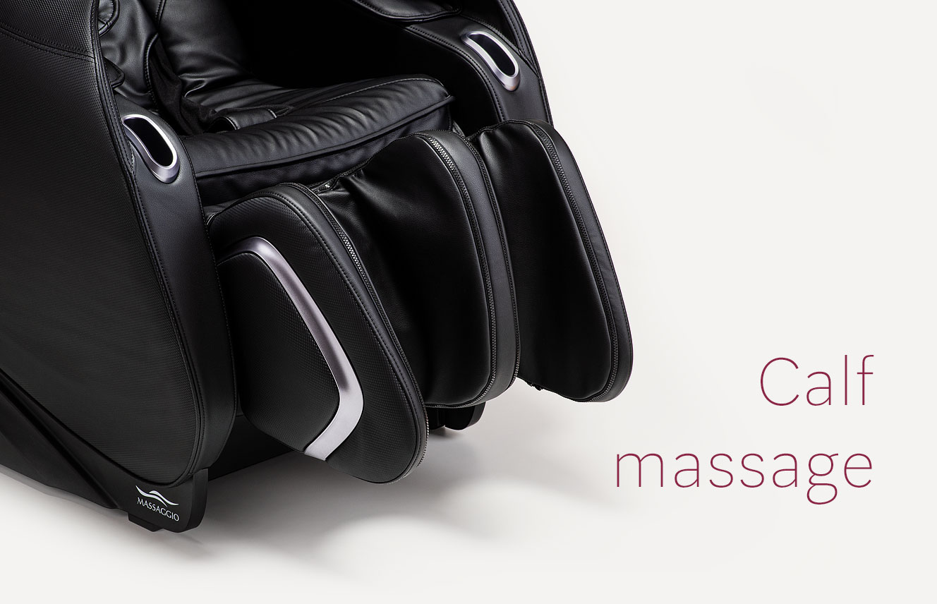 Calf massage in Massaggio Eccellente 2 massagge chair