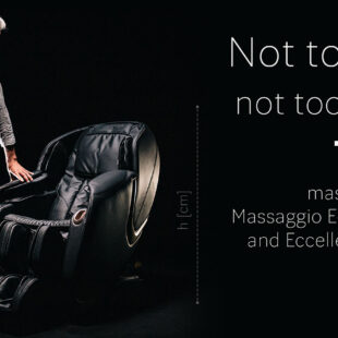 Not too big not too small massage chair