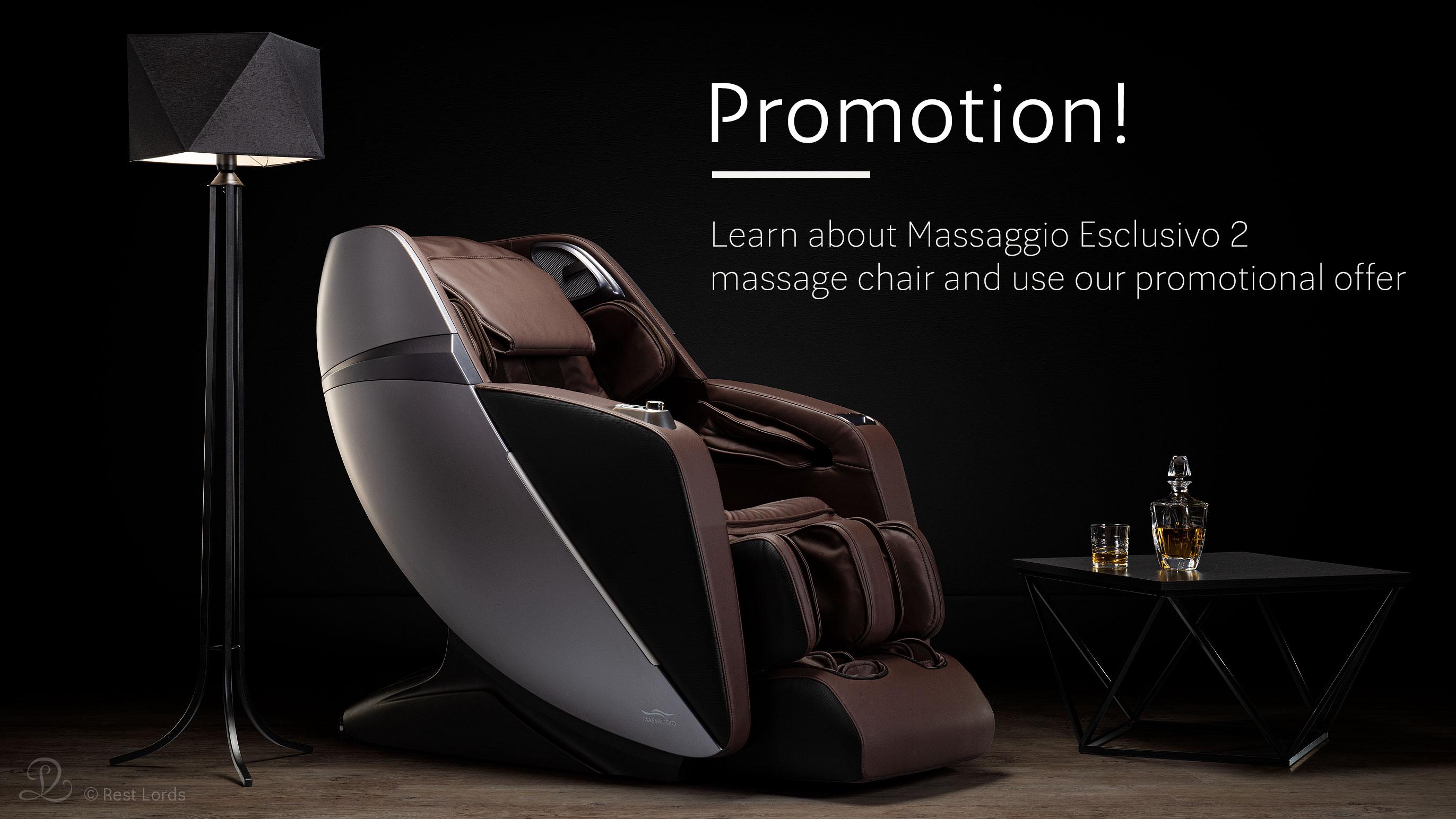 Massage chair Massaggio Esclusivo 2 on sale promotion