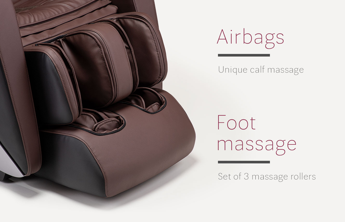 Airbags in massage chair Massaggio Esclusivo 2